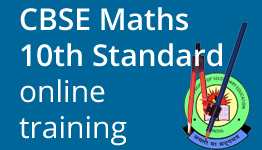 CBSE Maths for 10th Standard