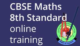 CBSE Maths for 8th Standard